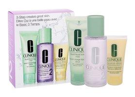 Clinique 3-Step Skin Care 2 50ml Liquid Facial Soap Mild + 100ml Clarifying Lotion 2 + 30ml DDML