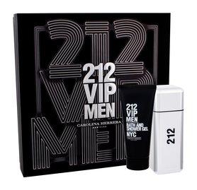 Carolina Herrera 212 VIP Men woda toaletowa 100 ml + 100 ml Żel pod prysznic