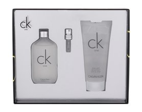 Calvin Klein CK One woda toaletowa 50ml + 100ml Żel pod prysznic
