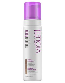 MineTan Violet Super Dark Samoopalacz w piance 200 ml