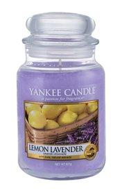 Yankee Candle Lemon Lavender Świeczka zapachowa 623 g