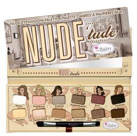 TheBalm Nude Tude Eyeshadow Palette 11,08 g Paleta cieni do powiek