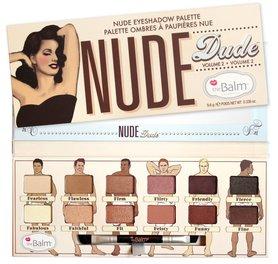 TheBalm Nude Dude Volume 2 Eyeshadow Palette 9,6 g Paleta cieni do powiek