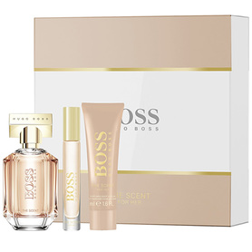 Hugo Boss Boss The Scent For Her woda perfumowana 100 ml + Balsam 50 ml + 7,4 ml EDP