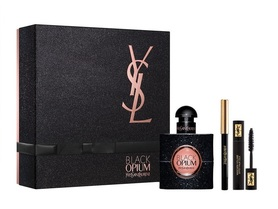 Yves Saint Laurent Black Opium woda perfumowana 50 ml + tusz do rzęs + kredka