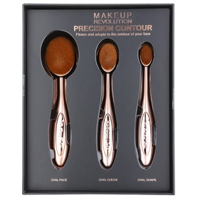 Makeup Revolution Brushes Precision Contour Pędzele do makijażu 3 sztuki