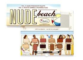 TheBalm Nude Beach Eyeshadow Palette Cienie do powiek W 9,6 g