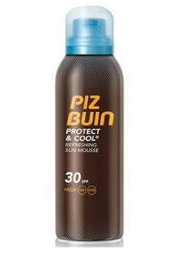 PIZ BUIN Protect & Cool SPF30 Preparat do opalania ciała w sprayu 150 ml