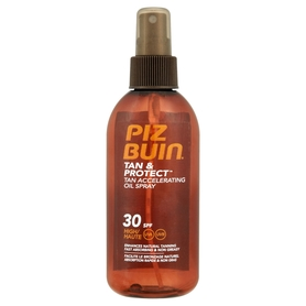 PIZ BUIN Tan & Protect Tan Accelerating Oil Spray SPF30 Olejek do opalania ciała  150 ml