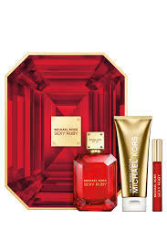 Michael Kors Sexy Ruby woda perfumowana 100 ml + Balsam do ciała 100 ml + Edp 10 ml