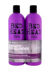Tigi Bed Head Dumb Blonde Szampon do włosów + Odżywka Zestaw 750 ml
