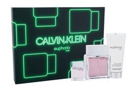 Calvin Klein Euphoria woda toaletowa 100 ml + Edt 15 ml + Balsam po goleniu 100 ml