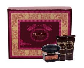 Versace Crystal Noir woda toaletowa 50ml + 50ml Balsam + 50ml Żel pod prysznic