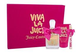 Juicy Couture Viva La Juicy woda perfumowana 100 ml + Edp 10 ml + Mleczko do ciała 125 ml