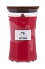 WoodWick Radish & Rhubarb Świeczka zapachowa 610 g