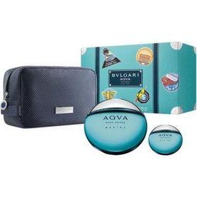 Bvlgari Aqva Pour Homme Marine woda toaletowa 100 ml + 15 ml + kosmetyczka