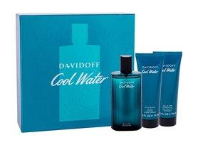 Davidoff Cool Water woda toaletowa 125 ml + 75ml Balsam po goleniu + 75ml Żel pod prysznic