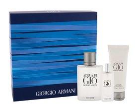 Giorgio Armani Acqua di Gio woda toaletowa 100 ml + Edt 15 ml + Żel pod prysznic 75 ml