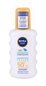 Nivea Sun Kids Sun Spray SPF50+ Preparat do opalania ciała 200 ml