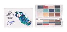 Dermacol Luxury Eyeshadow Palette Drama Cienie do powiek 1 Drama 18 g