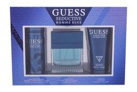 GUESS Seductive Homme Blue woda toaletowa 100 ml + Żel pod prysznic 200 ml + Dezodorant 226 ml
