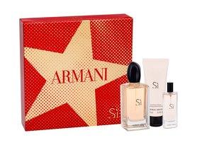 Giorgio Armani Si woda perfumowana 100 ml + Balsam do ciała 75 ml + Edp 15 ml
