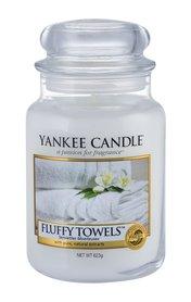 Yankee Candle Fluffy Towels Świeczka zapachowa 623 g