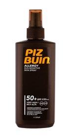 PIZ BUIN Allergy SPF50 Sun Sensitive Skin Spray Mleczko do opalania ciała 200 ml