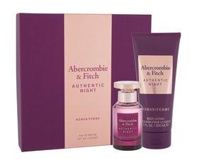 Abercrombie & Fitch Authentic Night woda perfumowana 50 ml + Mleczko do ciała 200 ml