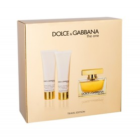 Dolce&Gabbana The ONE woda perfumowana 75 ml + 50 ml Balsam + 50 ml Żel