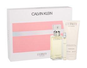 Calvin Klein Eternity woda perfumowana 100ml + 200ml Balsam + 10ml miniatura