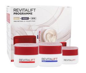 L´Oréal Paris Revitalift Krem do twarzy na dzień 50 ml + Krem na noc 50 ml + Krem pod oczy 15 ml