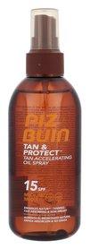 PIZ BUIN Tan & Protect SPF15 Tan Accelerating Oil Spray Olejek do opalania ciała 150 ml