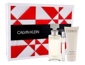 Calvin Klein Eternity woda perfumowana 100 ml + Mleczko do ciała 100 ml + Edp 10 ml