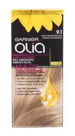 Garnier Olia Farba do włosów 9,1 Ashy Light Blonde 50 g