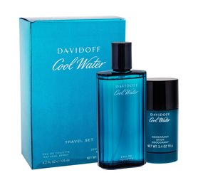 Davidoff Cool Water woda toaletowa 125 ml + Deostick 75 ml