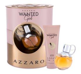 Azzaro Wanted Girl woda perfumowana 50 ml + Mleczko do ciała 100 ml