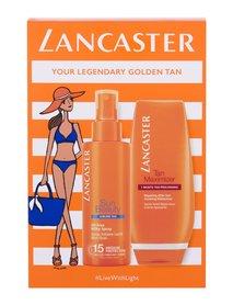 Lancaster Sun Beauty SPF15 Mleczko do opalania w spreju SPF15 150 ml + Mleczko po opalaniu Tan Maximizer 125 ml