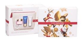 Clarins Multi-Active Krem do twarzy na dzień 50 ml + Krem na noc 15 ml + Balsam do twarzy Beauty Flash 15 ml + Kosmetyczka