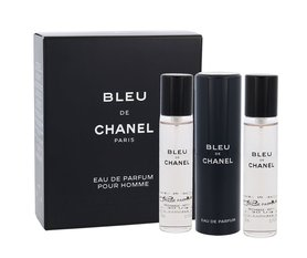 Chanel Bleu de Chanel Twist and Spray woda perfumowana 3x20 ml