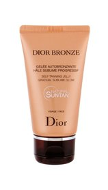 Christian Dior Bronze Self-Tanning Jelly Samoopalacz do twarzy 50 ml