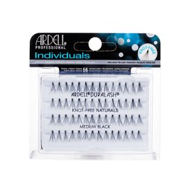 Ardell Individuals Duralash Knot-Free Naturals Sztuczne rzęsy Medium Black 1 opakowanie