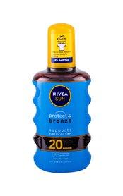 Nivea Sun SPF20 Protect & Bronze Oil Spray Preparat do opalania ciała 200 ml