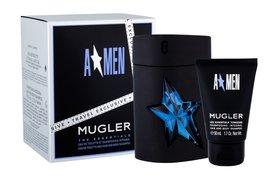Thierry Mugler A*Men Rubber Do napełnienia woda toaletowa 100 ml + Żel pod prysznic 50 ml