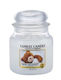 Yankee Candle Soft Blanket Świeczka zapachowa 411 g