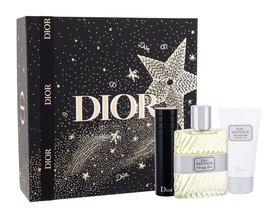 Christian Dior Eau Sauvage woda toaletowa 100 ml + Żel pod prysznic 50 ml + Edt 10 ml