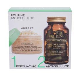 Collistar Pure Actives Anticellulite Capsules Kapsułki kofeinowe 14 szt + Peeling do ciała Talasso Scrub 150 g