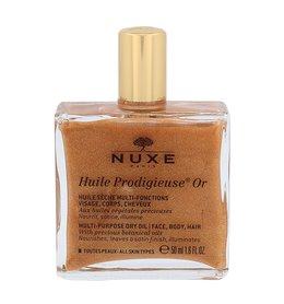 NUXE Huile Prodigieuse Multi-Purpose Shimmering Dry Oil Or Olejek do ciała z drobinkami złota 50 ml