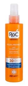 RoC Soleil-Protect SPF30 Moisturising Mleczko do opalania ciała 200 ml