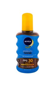 Nivea Sun SPF30 Protect & Bronze Oil Spray Preparat do opalania ciała 200 ml